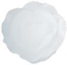 ローズキャンドル ホワイト Mサイズ キャンドルリレー用