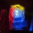 クリスタルキューブ:グラデーション 結婚式・パーティー演出グッズ 水に反応して光るキューブの類似商品