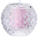 ダイヤモンドボール【ピンク】 キャンドルリレー用 長芯 グラスキャンドル