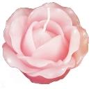 手作りのバラのキャンドル